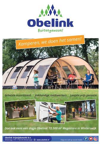 Obelink reclame folder (geldig t/m 31-07)