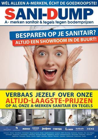Sani-Dump reclame folder (geldig t/m 31-01)