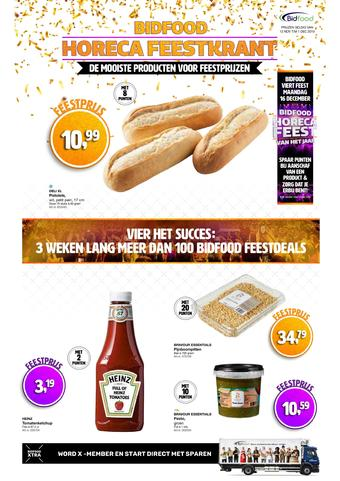 Bidfood reclame folder (geldig t/m 01-12)
