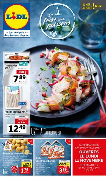 Lidl catalogue publicitaire (valable jusqu'au 12-11)