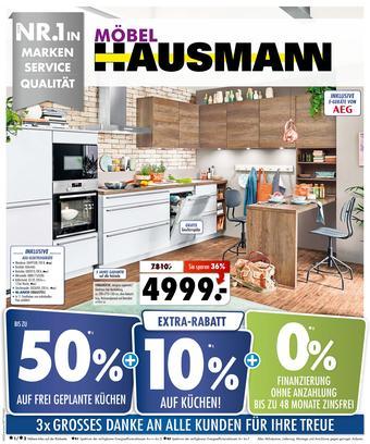 Möbel Hausmann Prospekt (bis einschl. 19-12)