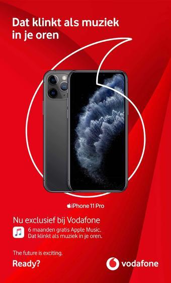 Vodafone reclame folder (geldig t/m 26-11)
