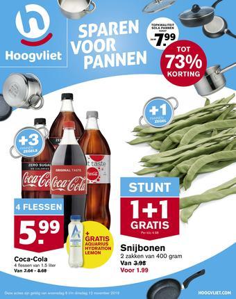 Hoogvliet reclame folder (geldig t/m 12-11)