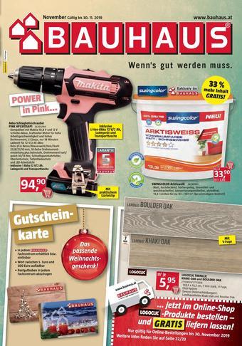 Bauhaus Werbeflugblatt (bis einschl. 28-11)
