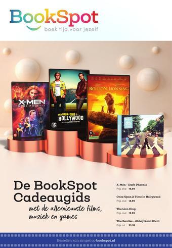 BookSpot reclame folder (geldig t/m 30-11)