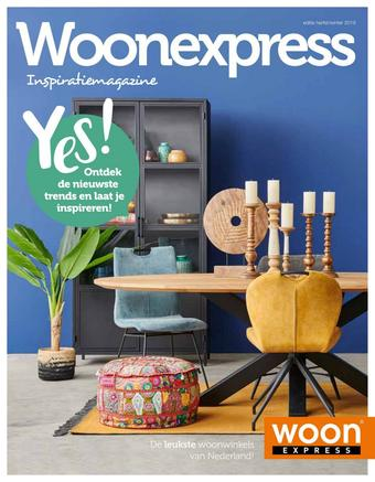 Woonexpress reclame folder (geldig t/m 29-02)