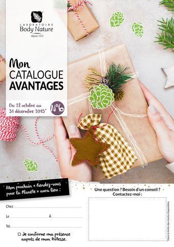 Body Nature catalogue publicitaire (valable jusqu'au 31-12)