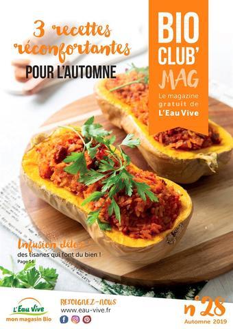 L'Eau Vive catalogue publicitaire (valable jusqu'au 30-11)