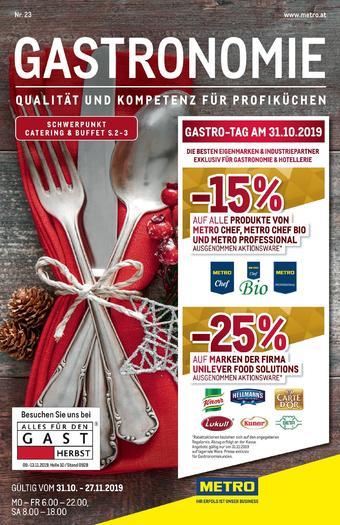 Metro Werbeflugblatt (bis einschl. 27-11)