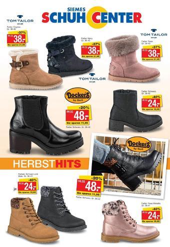 Siemes Schuhcenter Prospekt (bis einschl. 30-11)
