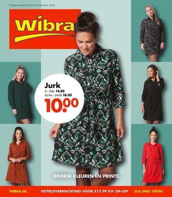 Wibra reclame folder (geldig t/m 16-11)