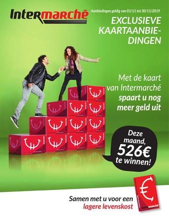 Intermarché reclame folder (geldig t/m 30-11)