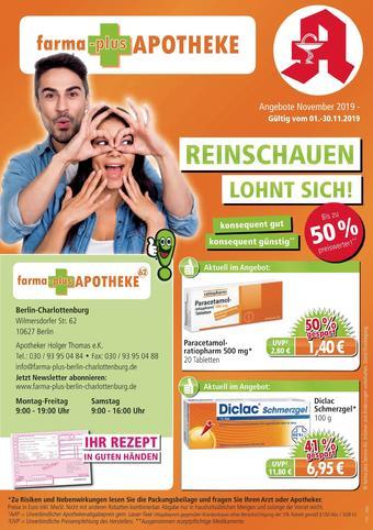 farma-plus Apotheken Prospekt (bis einschl. 30-11)