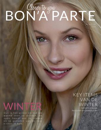 Bon'A Parte reclame folder (geldig t/m 29-12)