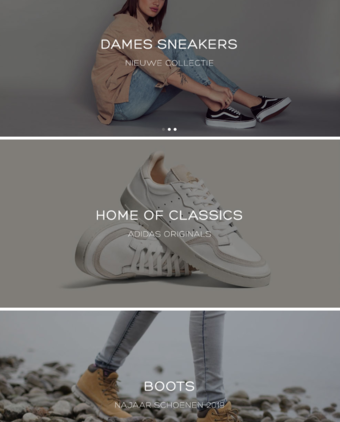 Sneakers reclame folder (geldig t/m 30-11)