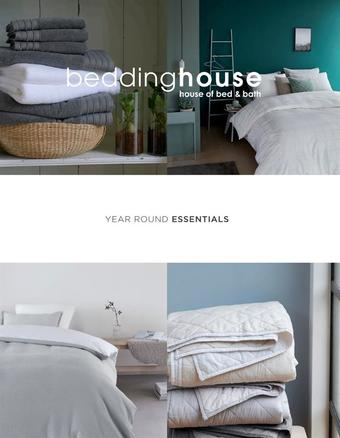 Bedding House reclame folder (geldig t/m 31-12)