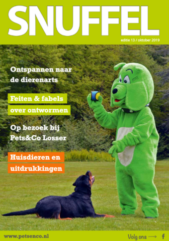 Pets & Co reclame folder (geldig t/m 31-01)