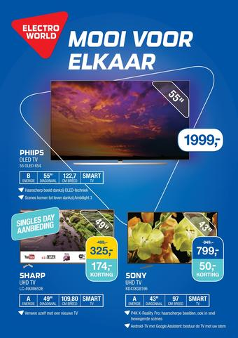 Electroworld reclame folder (geldig t/m 17-11)