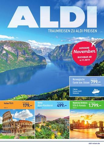 ALDI Nord Reisen Prospekt (bis einschl. 30-11)