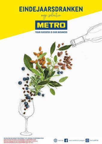 METRO reclame folder (geldig t/m 31-12)