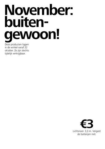 Flying Tiger reclame folder (geldig t/m 29-11)