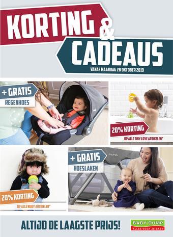 Baby-Dump reclame folder (geldig t/m 07-12)
