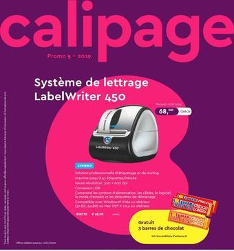 Calipage reclame folder (geldig t/m 12-01)