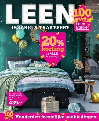 Leen Bakker reclame folder (geldig t/m 17-11)