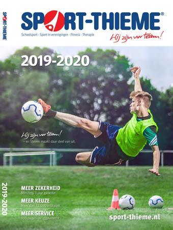 Sport Thieme reclame folder (geldig t/m 31-10)