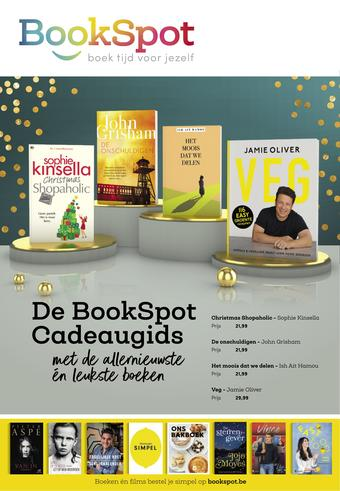 Bookspot reclame folder (geldig t/m 31-12)