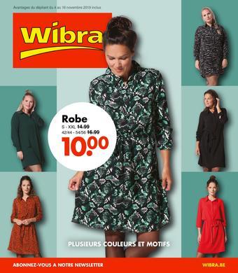 Wibra catalogue publicitaire (valable jusqu'au 16-11)