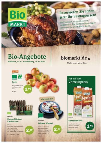 Aleco Biomarkt Prospekt (bis einschl. 19-11)