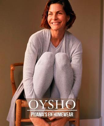 Oysho reclame folder (geldig t/m 01-01)