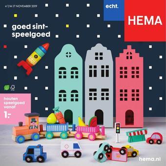 HEMA reclame folder (geldig t/m 17-11)