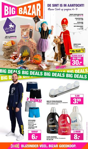 Big Bazar reclame folder (geldig t/m 17-11)
