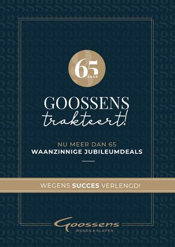 Goossens reclame folder (geldig t/m 08-12)