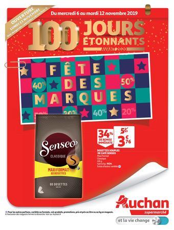 Auchan catalogue publicitaire (valable jusqu'au 12-11)