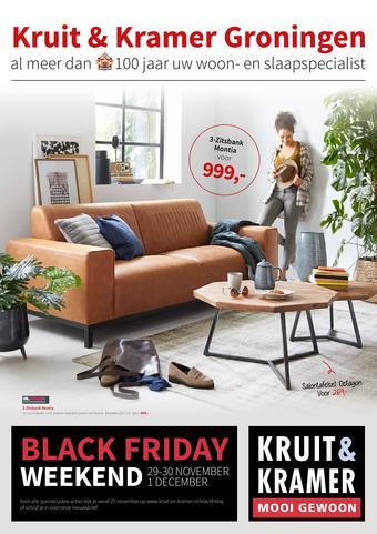 Kruit & Kramer reclame folder (geldig t/m 15-12)