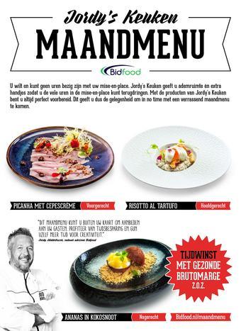 Bidfood reclame folder (geldig t/m 30-11)
