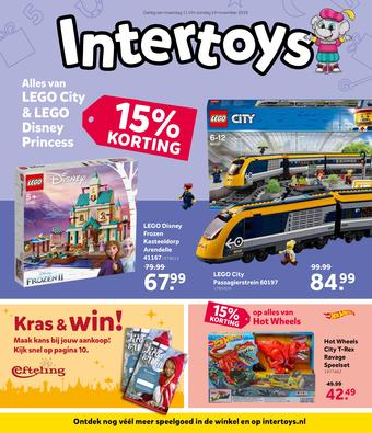 Intertoys reclame folder (geldig t/m 24-11)