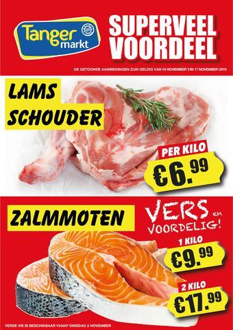 Tanger Markt reclame folder (geldig t/m 17-11)