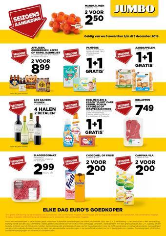 Jumbo Foodmarkt reclame folder (geldig t/m 03-12)