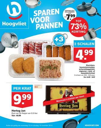 Hoogvliet reclame folder (geldig t/m 19-11)