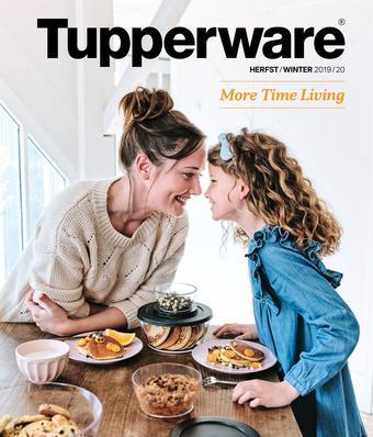 Tupperware reclame folder (geldig t/m 29-12)