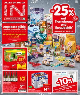 Interspar Werbeflugblatt (bis einschl. 20-11)