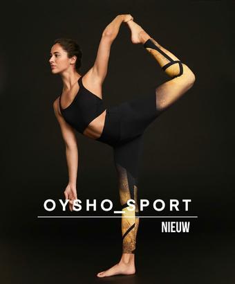 Oysho reclame folder (geldig t/m 06-01)