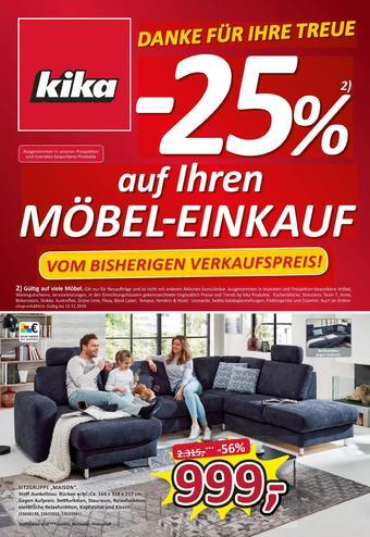 kika Werbeflugblatt (bis einschl. 25-11)