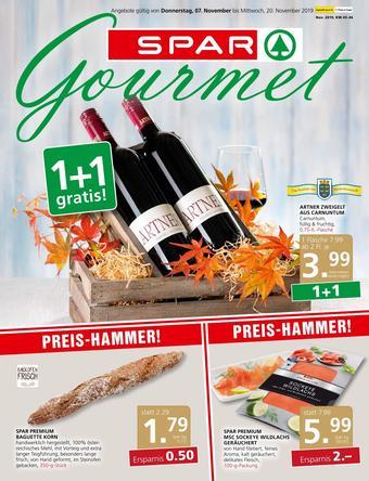 SPAR-Gourmet Werbeflugblatt (bis einschl. 20-11)
