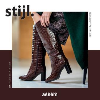 Van den Assem reclame folder (geldig t/m 30-11)