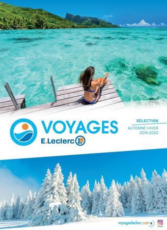 E.Leclerc Voyages catalogue publicitaire (valable jusqu'au 31-03)
